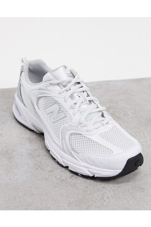 New Balance 530 trainers in metallic