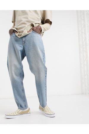 ASOS Classic rigid jeans in vintage mid wash