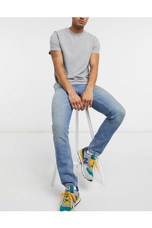 ASOS Slim jeans in vintage dirty light wash