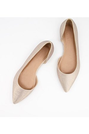 ASOS Wide Fit Virtue d'orsay pointed ballet flats in