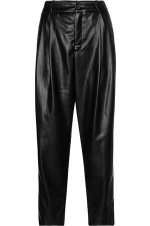 Velvet Simone faux leather tapered pants