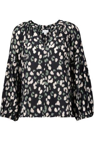 Velvet Lilian leopard-print blouse