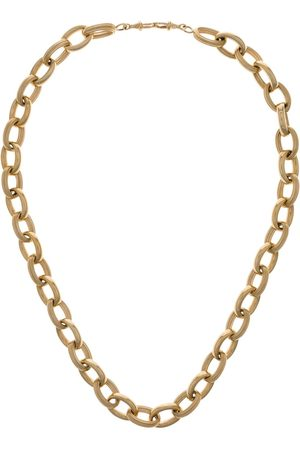 Marie Lichtenberg 10K yellow Rosa chain choker