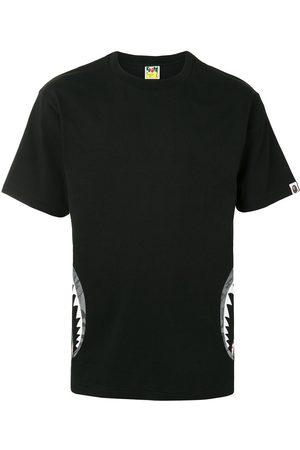 A BATHING APE® Camo Side Shark short sleeve T-shirt