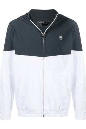 Hydrogen Bi-colour hooded track jacket