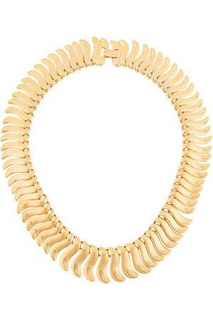 Susan Caplan 1980s Napier fishbone necklace