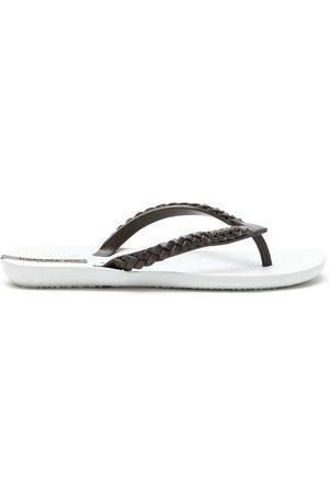 AMIR SLAMA Confortável flip flops