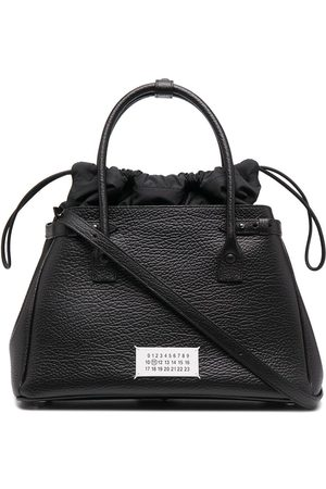 Maison Margiela Numbers patch tote bag