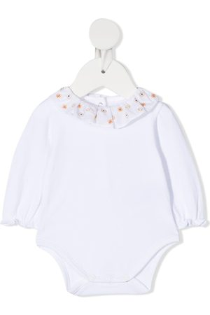 KNOT Embroidered-collar long sleeved body