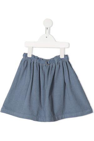 KNOT Susumu corduroy flared skirt