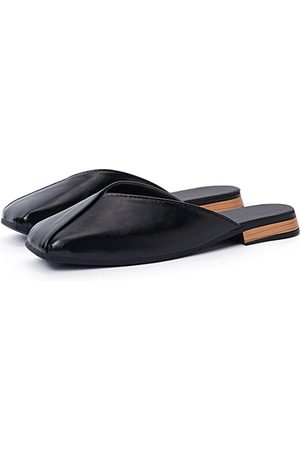 YOINS Square Toe Flat Slippers