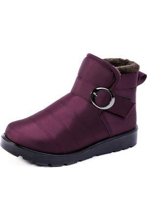 YOINS Waterproof Antiskid Warm Snow Boots