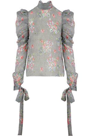 Siobhan Molloy London Jas Ditsy Bloom Print Blouse