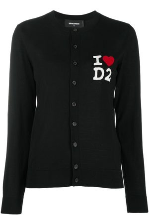 Dsquared2 Love logo cardigan