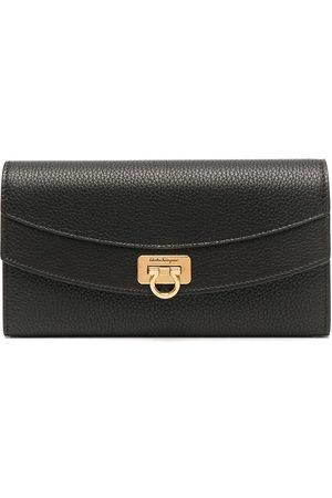 Salvatore Ferragamo Leather Gancini purse