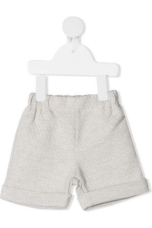 LA STUPENDERIA Dotted-pattern slip-on shorts