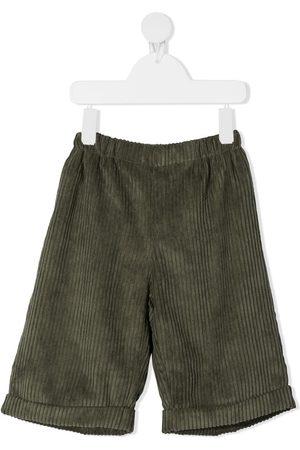 LA STUPENDERIA Corduroy slip-on shorts