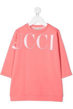 Emilio Pucci Logo print sweatshirt dress