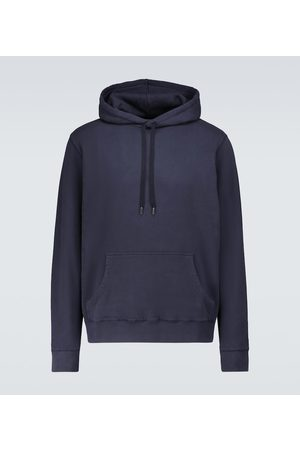 Sunspel Hooded cotton loopback sweatshirt