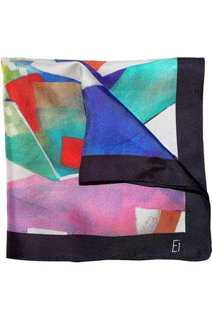 Ella Impressions Men Scarves - ABSTRACT-TWILL SILK