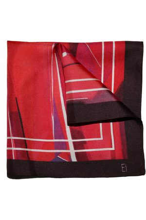 Ella Impressions O-BB Silk POCKET SQUARE