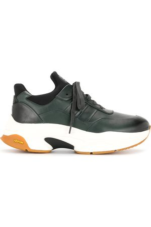 Bally Leather trainers with chunky rubber sole