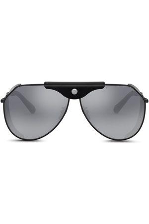 Dolce & Gabbana Panama aviator-frame sunglasses