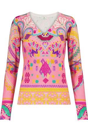 Etro Stretch-silk sweater
