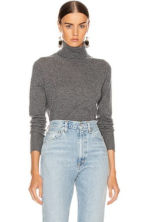 Equipment Delafine Turtleneck Sweater in Gray