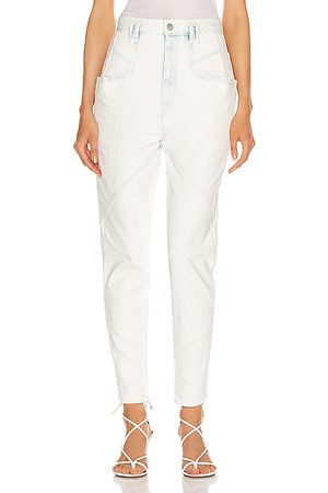 Isabel Marant Nadeloisa Jean in Denim Light