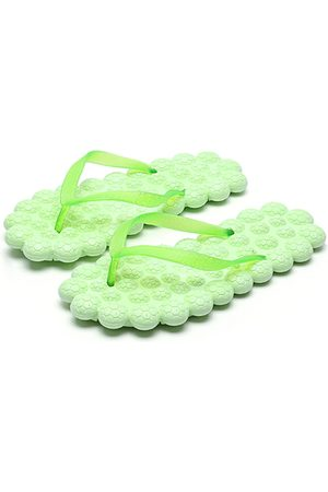 YOINS PVC Fashion Casual Massage Flat Slippers