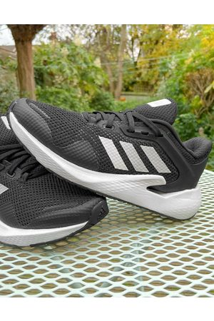 adidas performance Adidas Running Alphatorsion trainers in and white