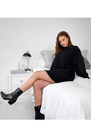 ASOS Women Casual Dresses - ASOS DESIGN Tall oversized smock back sweat dress in