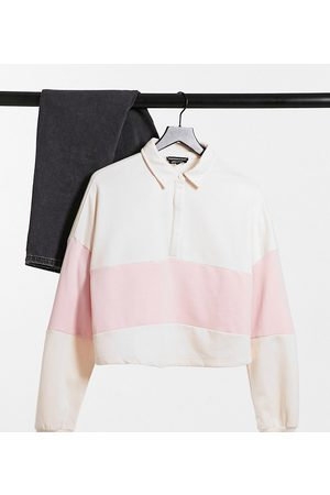 Wednesday's Girl Relaxed sweatshirt with contrast stripe
