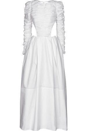 Khaite Rosaline cotton twill gown