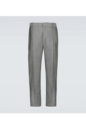 Alexander McQueen Wool-blend tailored pants