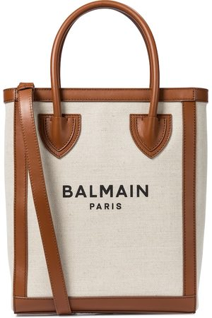 Balmain B-Army 26 canvas shopper