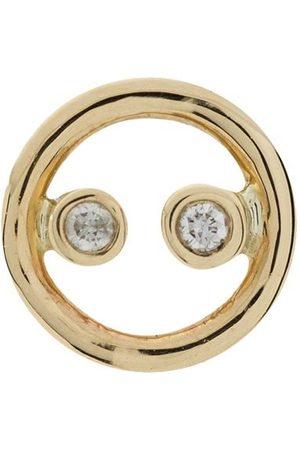 Anissa Kermiche 9K yellow diamond single earring