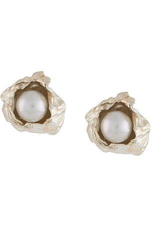 NIZA HUANG Crush pearl stud earrings