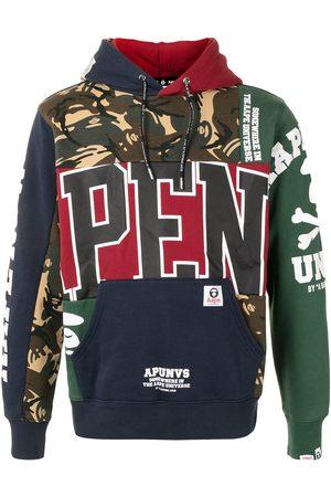 AAPE BY *A BATHING APE® Multi-panel design hoodie