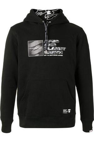 AAPE BY *A BATHING APE® Multi-logo print hoodie
