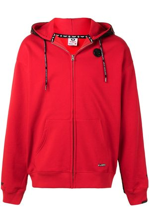 AAPE BY *A BATHING APE® Graphic-print zip-up hoodie