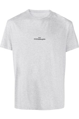 Maison Margiela Logo-embroidered T-shirt