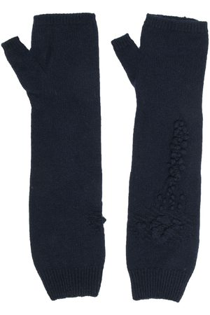 Barrie Cashmere fingerless gloves