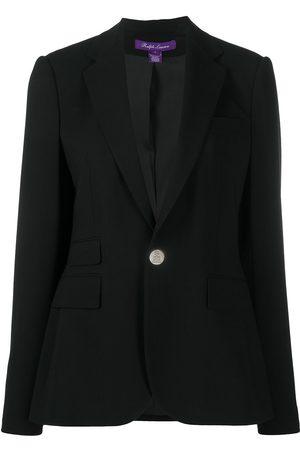 Ralph Lauren Wool-crepe tailored blazer