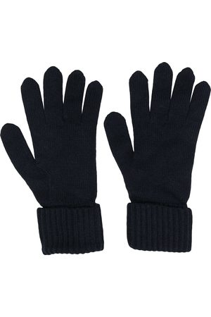 N.PEAL Ribbed knit gloves