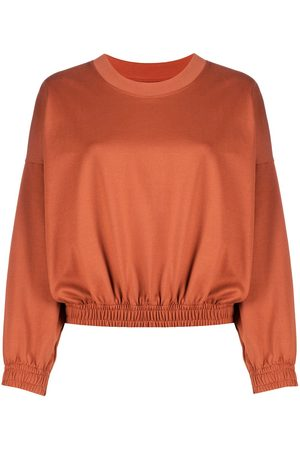 Styland Long-sleeved elasticated hem jumper
