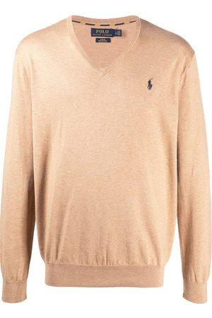 Polo Ralph Lauren Logo-patch fine knit jumper