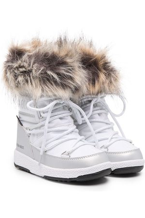 Moon Boot Faux fur-ankle boots