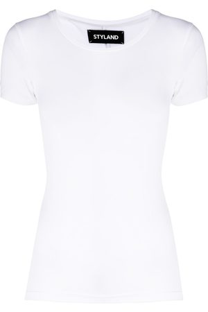 Styland Fitted roundneck T-shirt